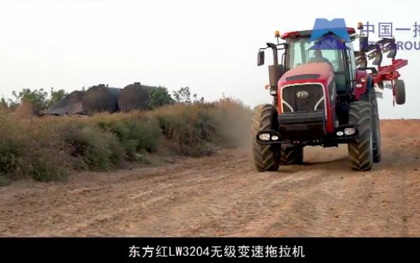 東方紅LW3204輪式拖拉機產品介紹