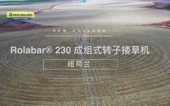 纽荷兰230搂草机绕机讲解