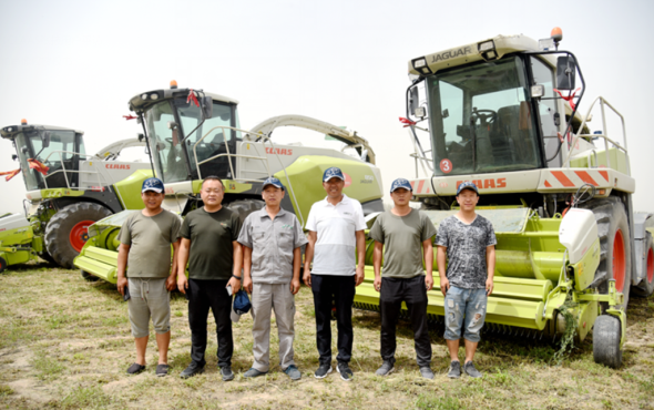 張連忠:點贊JAGUAR系列青貯機,CLAAS是農場值得信賴的伙伴