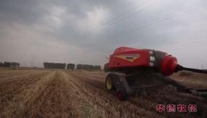 华德9YFQ系列方捆机小麦秸秆打捆视频