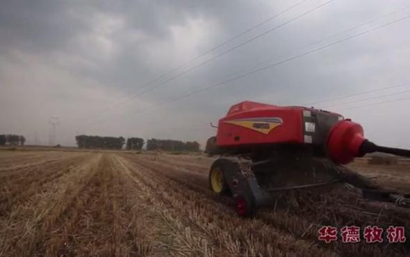 華德9YFQ系列方捆機小麥秸稈打捆視頻