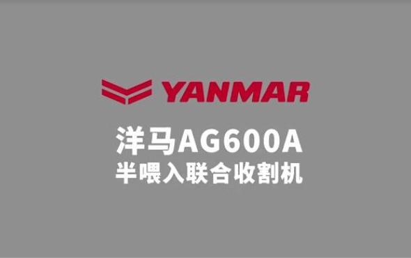洋马AG600A收割机