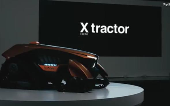 久保田X_系列无人驾驶拖拉机-产品讲解