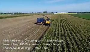 紐荷蘭FR500青貯機-作業視頻