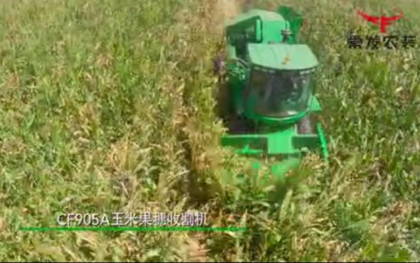 常發CF905A自走式玉米收獲機-產品講解