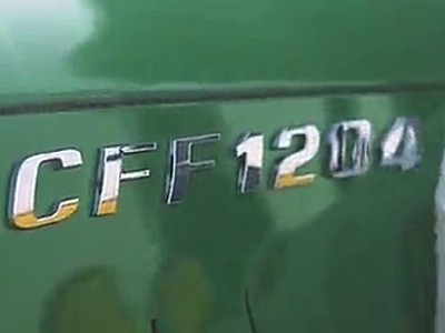 常發水田之王,靈活高檔-CFF1204輪式拖拉機-作業視頻