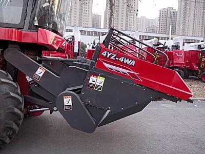 2021款200马力四行玉米收割机机-中联收获4YZ-4W
