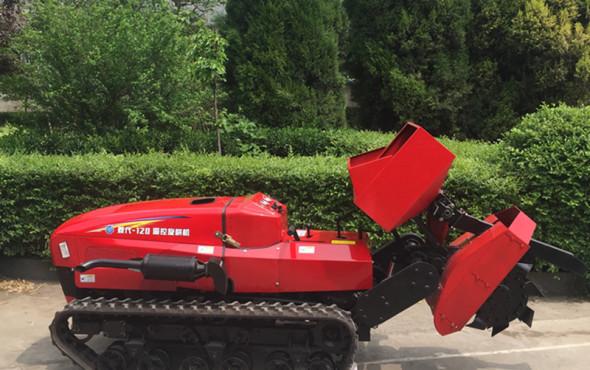 菱代履帶果園管理施肥機作業視頻
