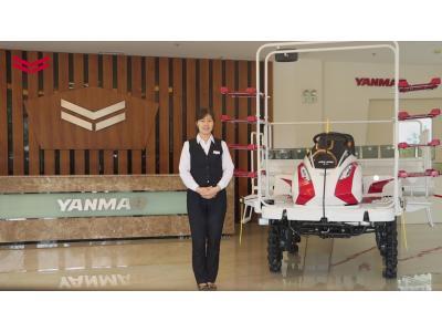 洋马YR10D自走式水稻直播机产品介绍视频