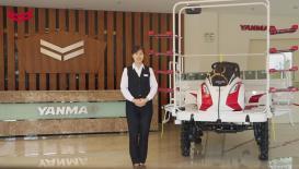 洋馬YR10D自走式水稻直播機產品介紹視頻