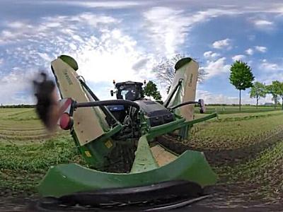 帶你360°了解瑞海-科羅尼小型割草機作業場景