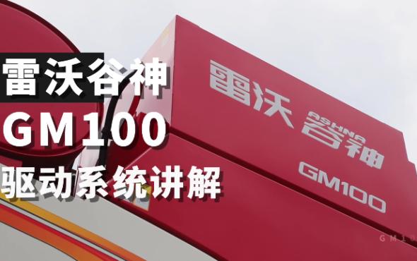 雷沃谷神MG100(4LZ-10M6)小麥機介紹-驅動
