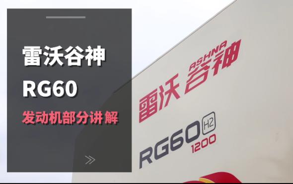 雷沃RG60(4LZ-6G3A)水稻機介紹-發動機