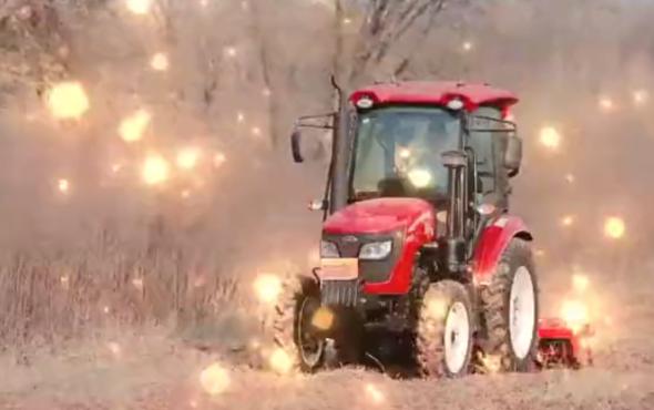 东方红ME704-N轮式雷火作业视频