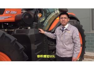 幾何重工2204輪式拖拉機介紹