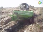 世達爾側牽引方捆機收獲玉米秸稈視頻