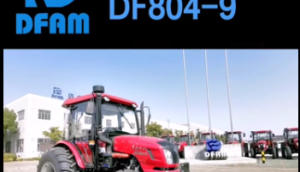 東風DF804-9輪式拖拉機產品介紹