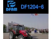 東風DF1204-6輪式拖拉機產品介紹