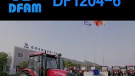 东风DF1204-6轮式拖拉机产品介绍
