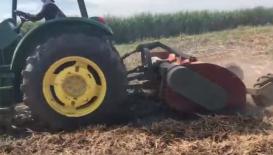中州兴发2M-2.4M甘蔗叶粉碎还田机作业12bet滚球