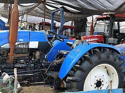 上海纽荷兰SNH554拖拉机