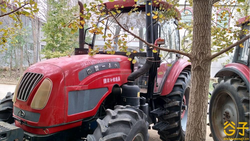 泰山1404轮式拖拉机
