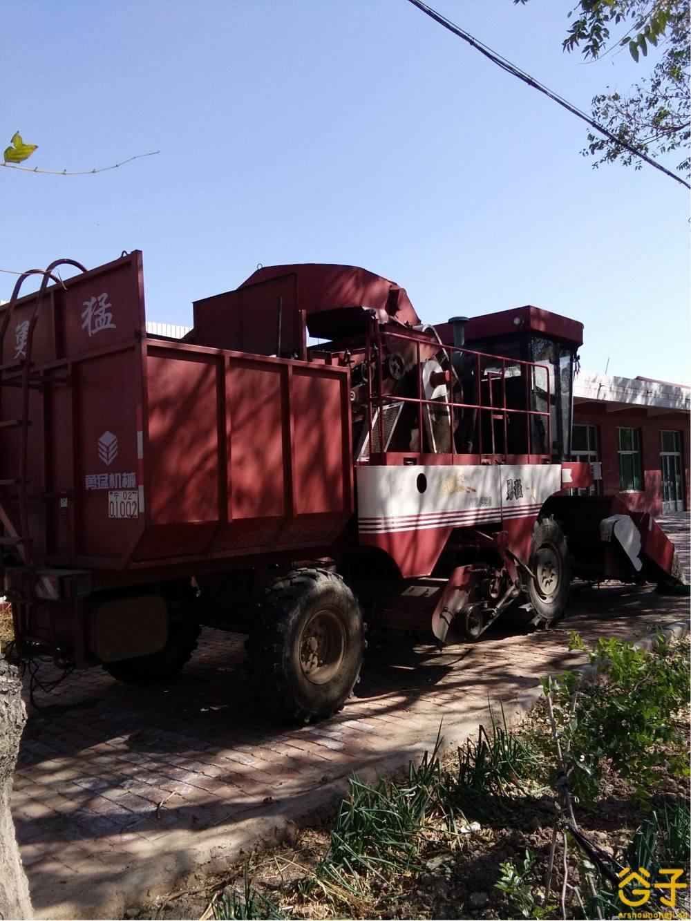 勇猛4YZ-4590z玉米收获机