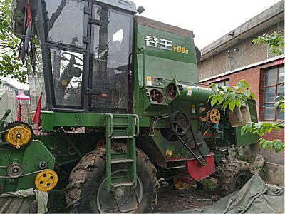 谷王TB604LZ-6B型小麦收割机