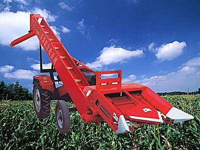 海伟牌4YW-2玉米收割机