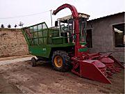 豫牡牌玉米青储机
