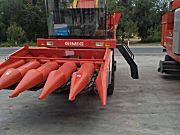 巨明4YZP-5型中五行玉米收获机