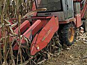 巨明4YZP-358新三行玉米收获机