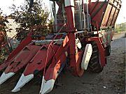 唐工大三行玉米秸秆双收收割机