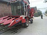 豪丰4YZX-3B自走式玉米收获机