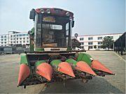 中国收获4行玉米收获机