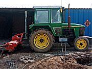约翰迪尔750拖拉机