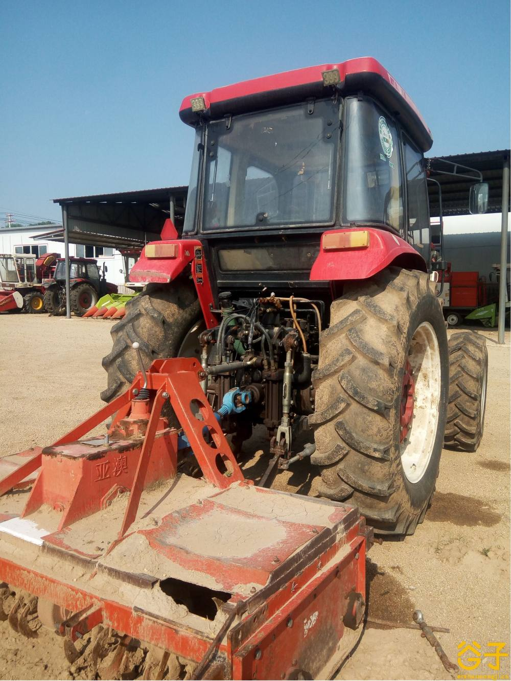 黄海金马854轮式拖拉机