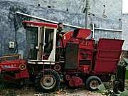 豪丰4YZJ-2自走式玉米收获机