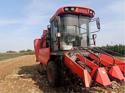 河北英虎4YZB-3型玉米收获机