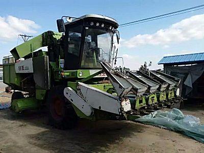中联谷王CA50(4YZ-5A)玉米收割机