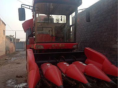 天人4YZB-4小四行玉米收割机