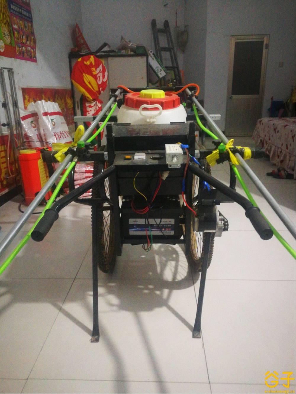 2轮自走式喷药机