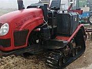 金刀牌90马力的履带式拖拉机