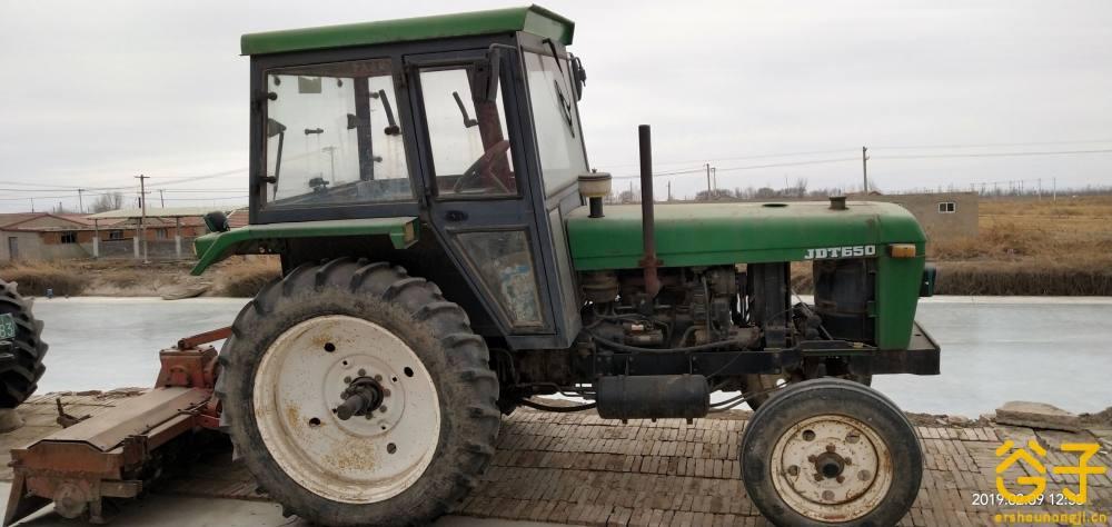约翰迪尔650拖拉机