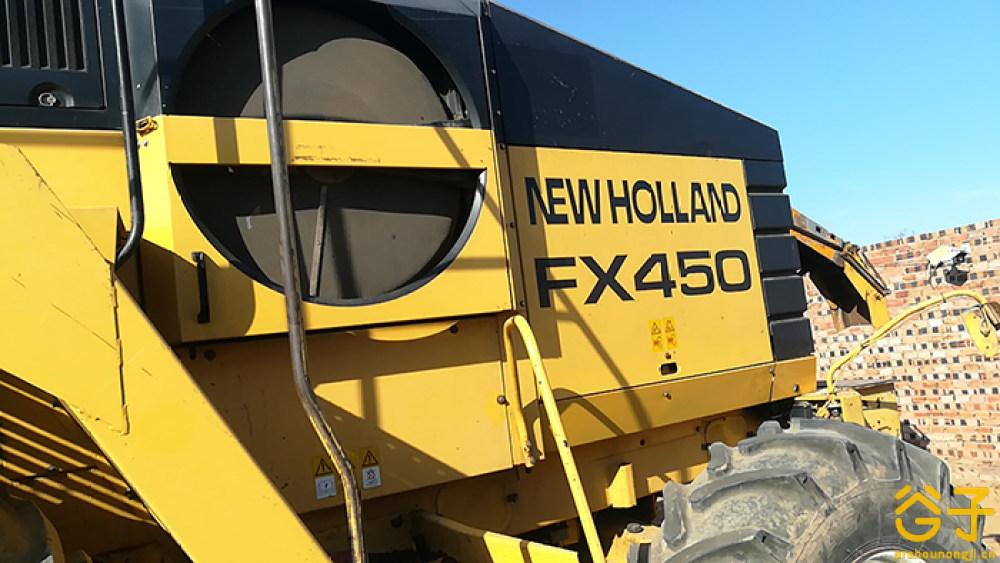 纽荷兰FX450青贮收获机