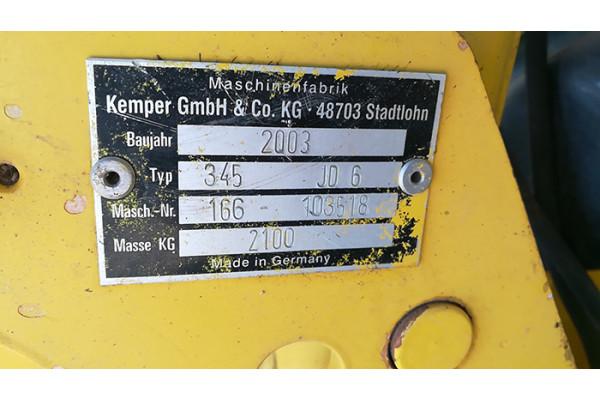 德国Kemper冠军345青贮机割台