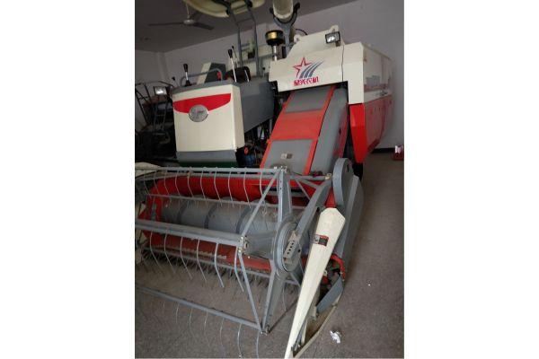 星光农机XG100履带自走全喂入式联合收割机
