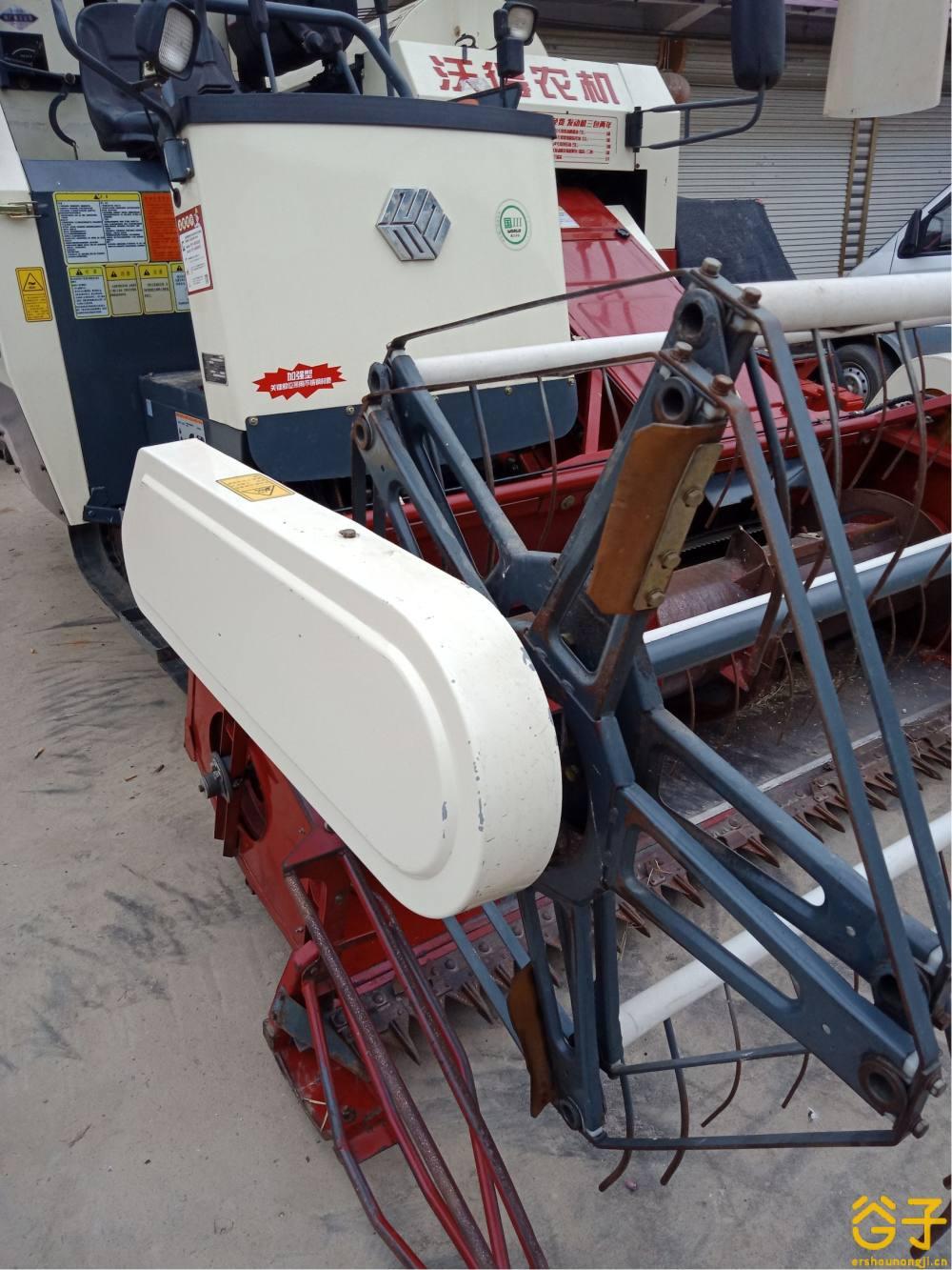 沃得锐龙4LZ-5.0E联合收割机