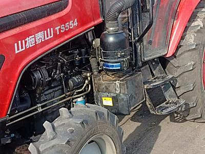山拖<em>泰山</em>TS554轮式拖拉机