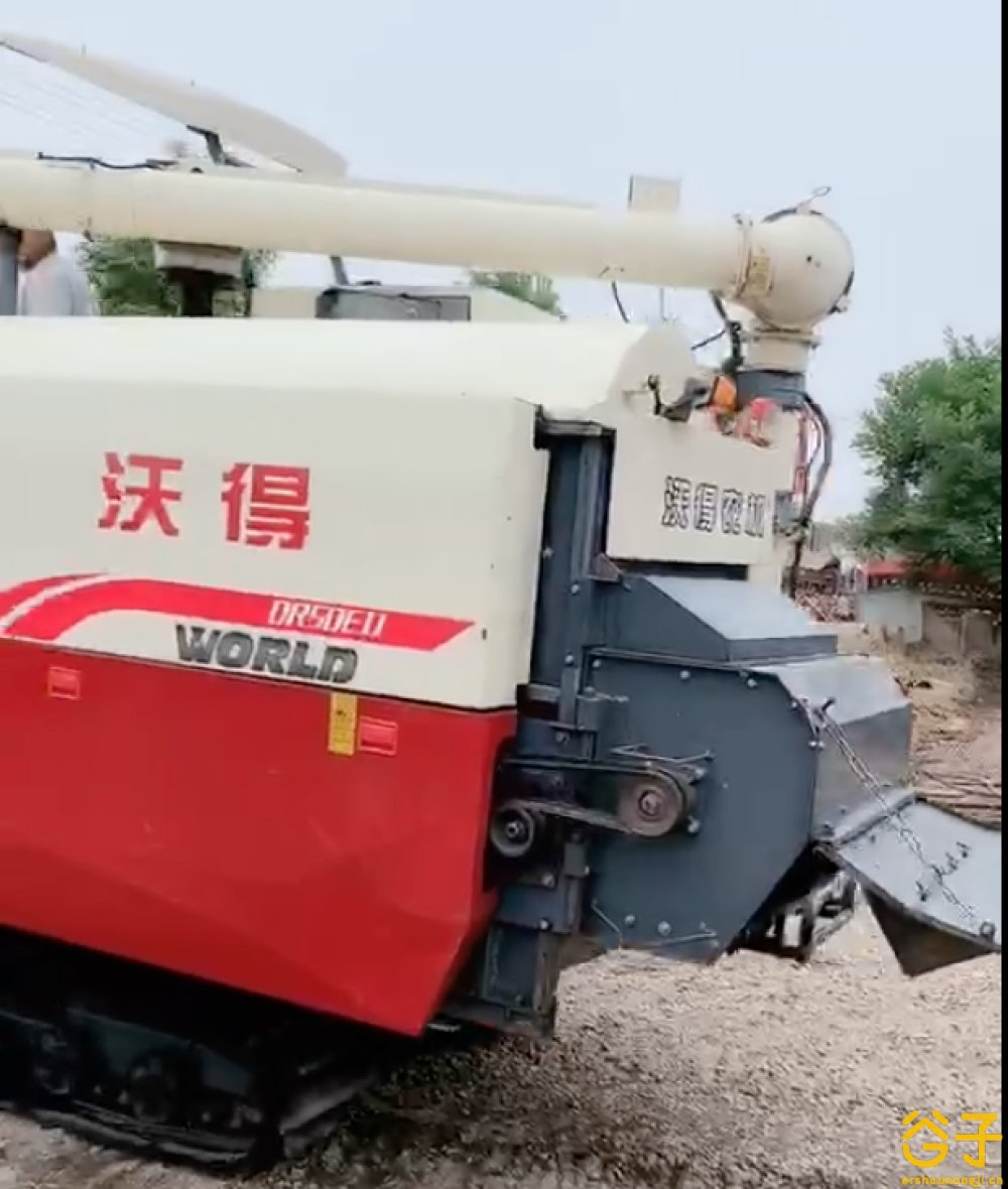 沃得锐龙4LZ-5.0E收割机